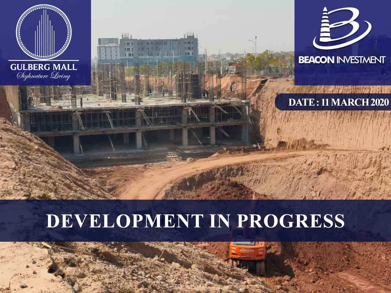 gulberg mall development